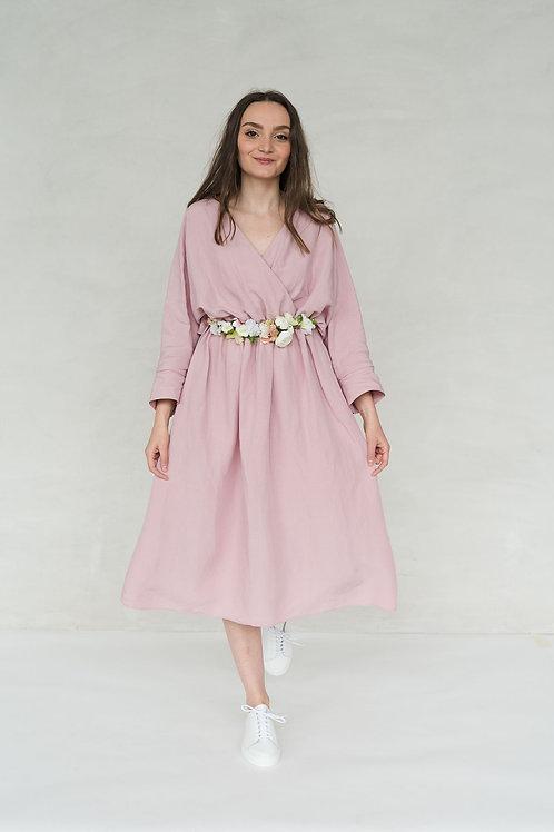 FRIEDA DRESS - LIGHT ROSE