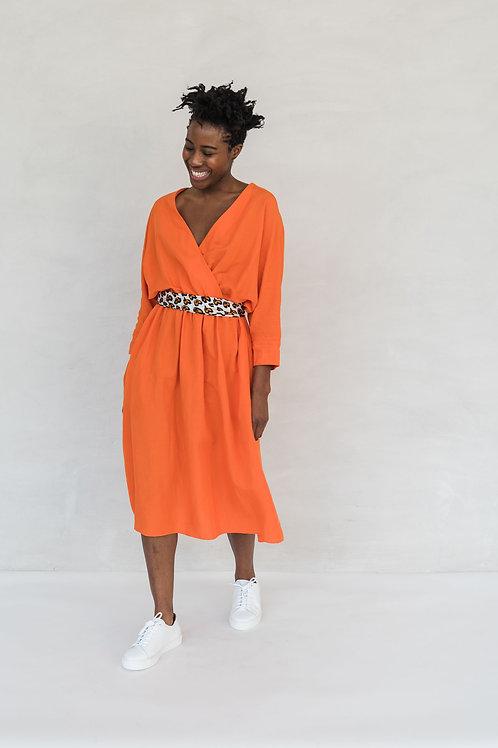 FRIEDA DRESS - ORANGE