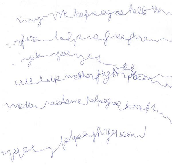 Automatic Writing - North Cornwall Paranormal