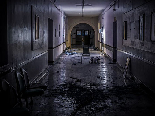 Abandoned Hospital Still Has A Tale To Tell