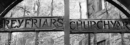 Greyfriars Graveyard Turns Black