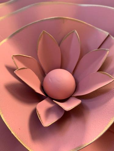 Finley Metal Wall Flower