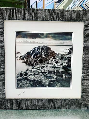 Custom framed in Larson-Juhl Linea collection