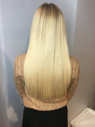 Hairtalk Extensions Frisör Josefine Boman - Salong MAJO