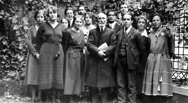 Spielrein in Geneva in 1921