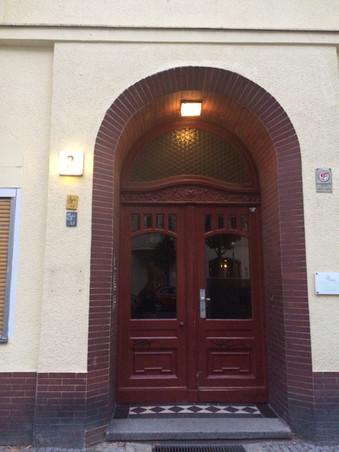Spielrein's house at Thomasiusstrasse 2, Berlin
