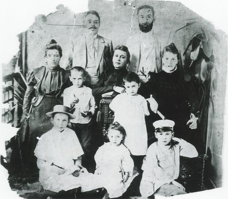 Spielrein family, 1896