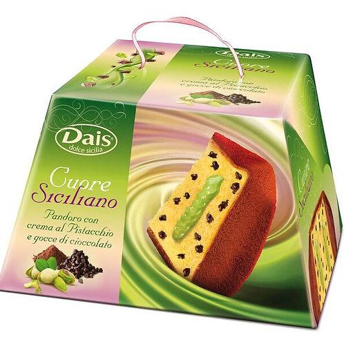 Dais Pistacchio Cream Chocolate Chip Pandoro 750 Gram