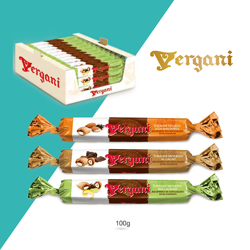Vergani Chocolate Nougat Sigars