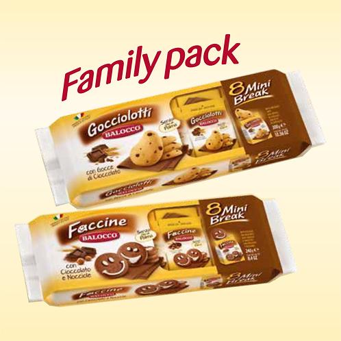 WS Balocco Gocciolotti Family Pack Cookies