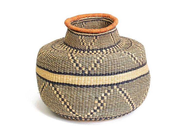 Mwiba Grass Pot