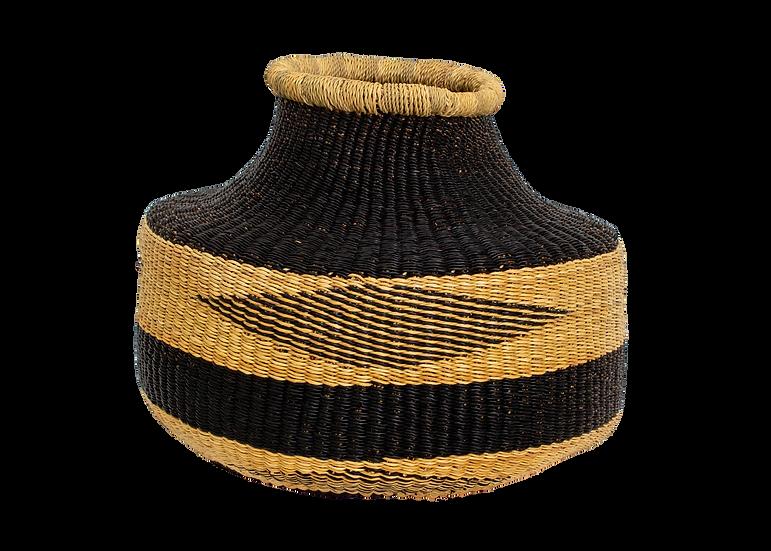 Almasi Black Grass Short Pot