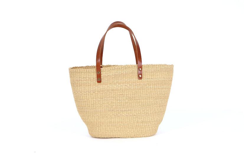 Natural Grass Large Tote Bag
