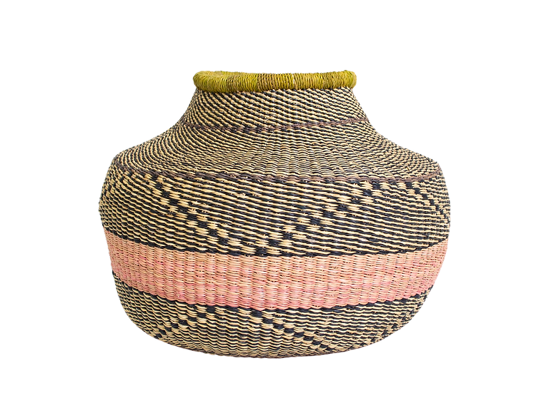 Tumaini Grass Short Pot