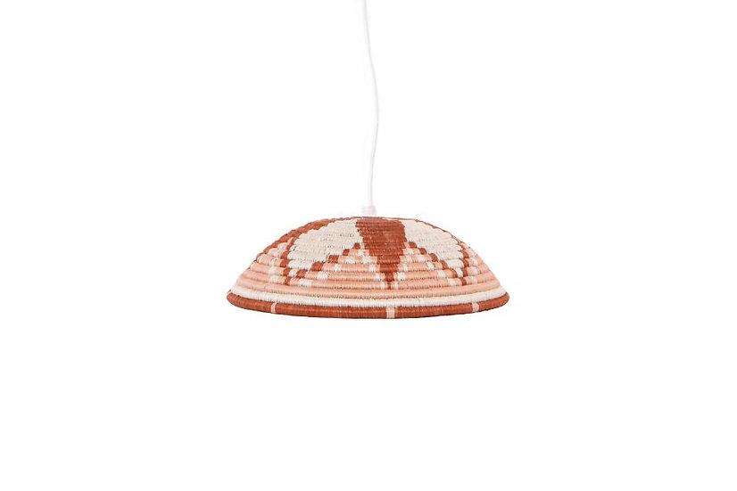 Large Dusty Peach Lamp Pendant