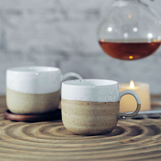 Nordic Art Retro Frosted Ceramic Coffee Mug