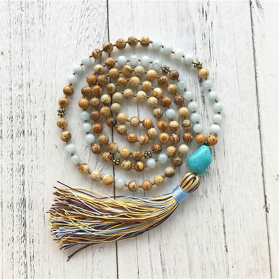 Knotted Mala Necklace