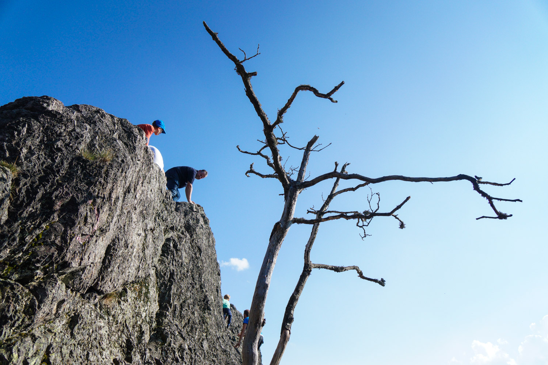 Climbing area 'Karlsruher Grat'