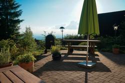 Fantastic terrace view