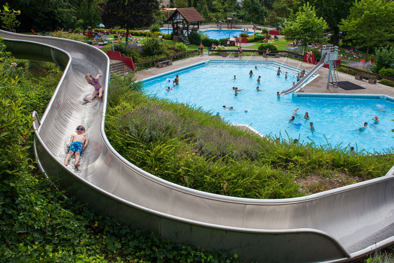 Public open-air pool Sasbachwalden