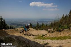 Schwarzwaldtrail - Blick ins Rheinta