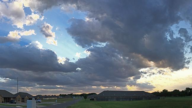 Evening Clouds, Morning Rain