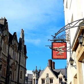 Cambridge City Centre - The Eagle Pub