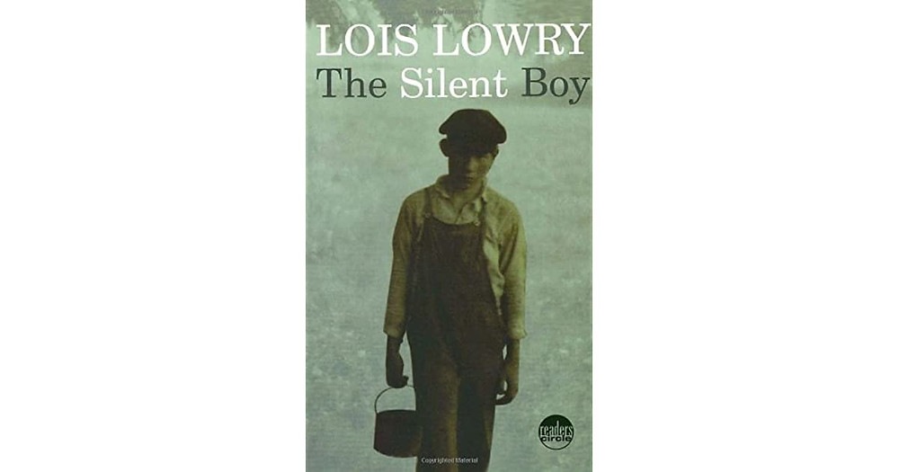 Book cover showing Victorian-looking boy looking dourly at camera.