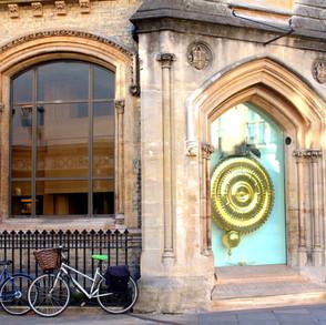 Cambridge City Centre - Corpus clock (The Grasshopper)