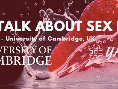 Let's Talk About Sex in YA @ Cambridge - We're going online!