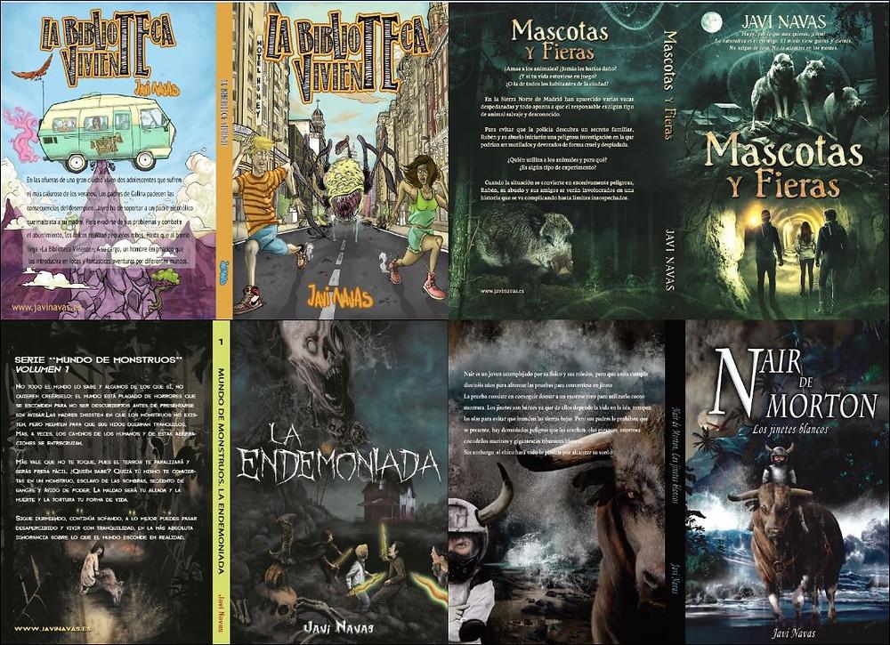 Novelas de fantasía de www.javinavas.es