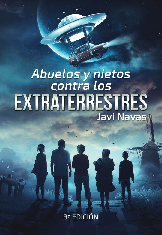 Portada de Abuelos y nietos contra los extraterrestres