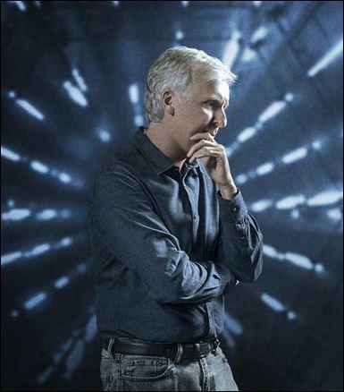 """James Cameron en """"La historia de la ciencia ficción""""."""