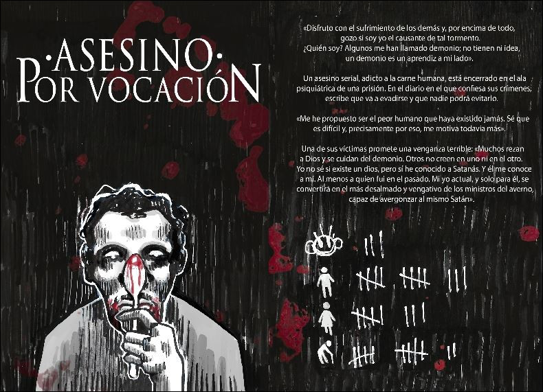 Asesino por vocación, de Javi Navas.