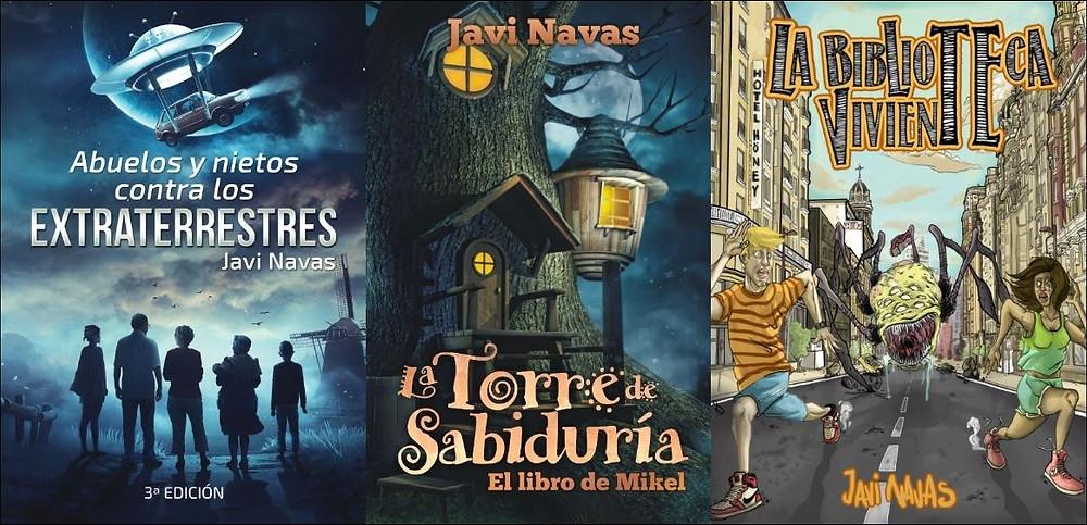 Libros intantil y juvenil en www.javinavas.es
