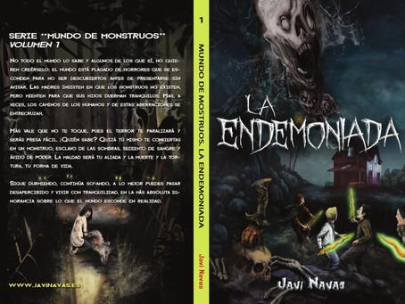 La endemoniada, de Javi Navas. Disponible en ebook y en papel.