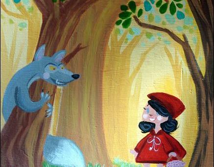 Los niños necesitan al lobo feroz