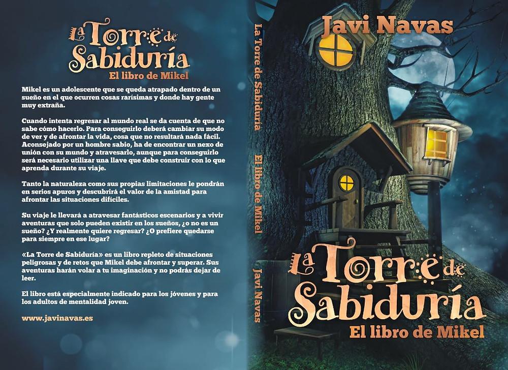 Portada de La Torre de Sabiduría, de Javi Navas. En www,javinavas.es
