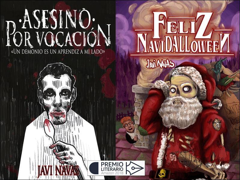 Novelas participantes en el Premio Literario 2018 de Amazon. En www.javinavas.es
