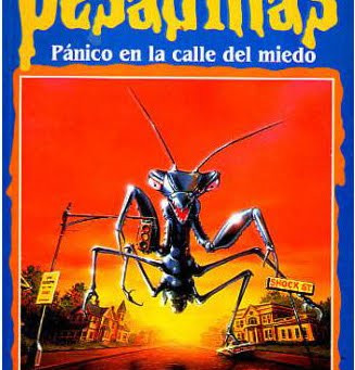 """Reseña de """"PESADILLAS: Pánico en la calle del miedo"""", de R. L. Stine."""