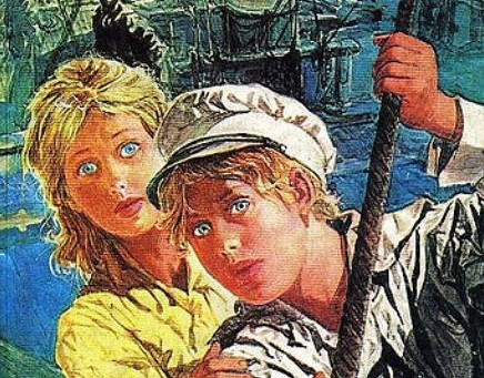 Los hijos del capitán Grant, de Julio Verne.