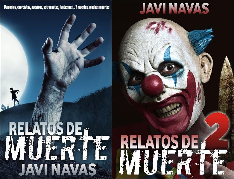 Relatos de muerte. Libros de relatos de www.javinavas.es