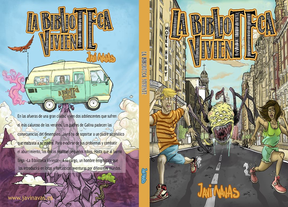 La Biblioteca Viviente. www.javinavas.es Novela infantil y juvenil.