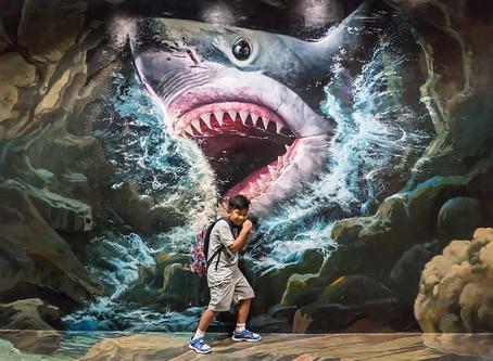 Tiburones. El supervillano de novelas y películas.