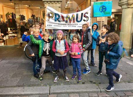 Primus bei Friday for Future