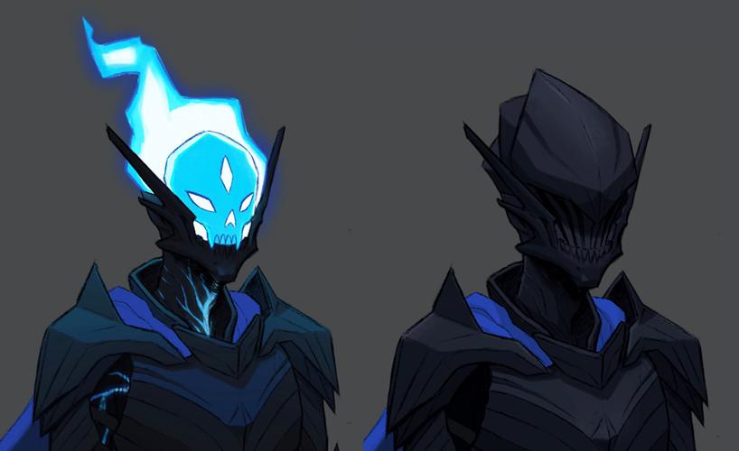 Death Knight Head Detail