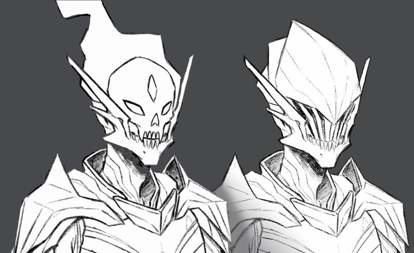 Death Knight Head Line Detail