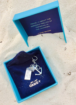 Blue Box with Necklace