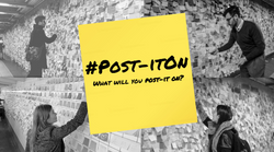 What will you #Post-itOn