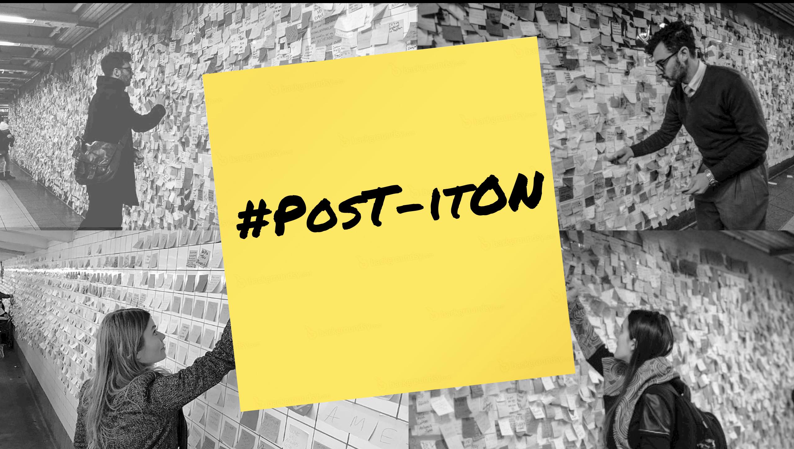 #Post-itOn Campaign
